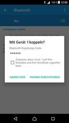 Sony Xperia Z5 (E6653) - Android Nougat - Bluetooth - Geräte koppeln - Schritt 9
