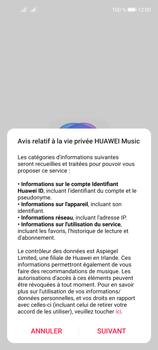Huawei P40 Lite 5G - Photos, vidéos, musique - Ecouter de la musique - Étape 3