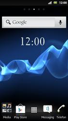 Sony Xperia Sola - Apps - Konto anlegen und einrichten - 2 / 19