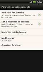 HTC One SV - Internet et roaming de données - Désactivation du roaming de données - Étape 5