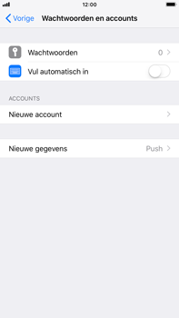 Apple iPhone 6s Plus - iOS 12 - E-mail - handmatig instellen - Stap 4