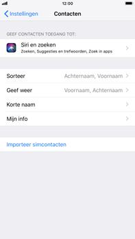 Apple iphone-8-plus-met-ios-12-model-a1897 - Contacten en data - Contacten kopiëren van SIM naar toestel - Stap 4