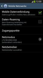 Samsung Galaxy S4 Active - Netzwerk - Netzwerkeinstellungen ändern - 6 / 8