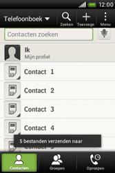 HTC A320e Desire C - contacten, foto