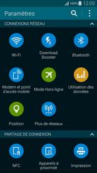 Samsung G850F Galaxy Alpha - Internet et roaming de données - Comment vérifier que la connexion des données est activée - Étape 4