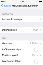Apple iPhone 4 S - E-Mail - Konto einrichten - 4 / 29