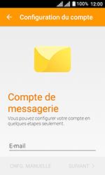 Alcatel U3 - E-mails - Ajouter ou modifier un compte e-mail - Étape 6