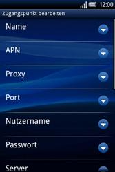 Sony Ericsson Xperia X8 - Internet - Manuelle Konfiguration - Schritt 9
