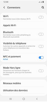 Samsung Galaxy A40 - Internet et connexion - Désactiver la connexion Internet - Étape 5