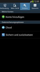 Samsung Galaxy S 4 LTE - Gerät - Zurücksetzen auf die Werkseinstellungen - Schritt 5