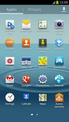 Samsung Galaxy S III LTE - Internet et roaming de données - Comment vérifier que la connexion des données est activée - Étape 3