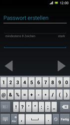 Sony Xperia J - Apps - Einrichten des App Stores - Schritt 12