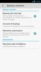 Huawei Ascend G526 - Dispositivo - Ripristino delle impostazioni originali - Fase 6