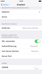 Apple iPhone 6s iOS 10 - E-Mail - Manuelle Konfiguration - Schritt 27