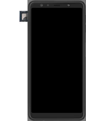 Samsung galaxy-a7-dual-sim-sm-a750fn-android-pie - Instellingen aanpassen - SIM-Kaart plaatsen - Stap 6