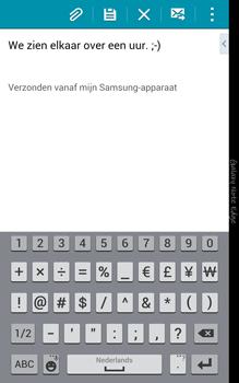 Samsung Galaxy Note Edge - e-mail - hoe te versturen - stap 10