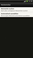 HTC One S - Netzwerk - Manuelle Netzwerkwahl - Schritt 6