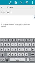 Samsung G900F Galaxy S5 - E-mail - envoyer un e-mail - Étape 8