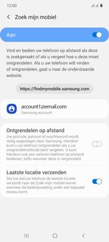 Samsung galaxy-s10-lite-dual-sim-sm-g770f - Beveiliging en ouderlijk toezicht - Zoek mijn mobiel inschakelen - Stap 8