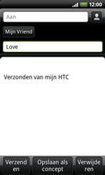 HTC A7272 Desire Z - E-mail - E-mails verzenden - Stap 6