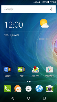 Acer Liquid Z630 - MMS - configuration automatique - Étape 1