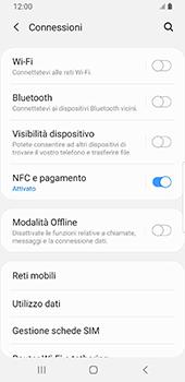 Samsung Galaxy S9 - Android Pie - Rete - Come attivare la connessione di rete 4G - Fase 5