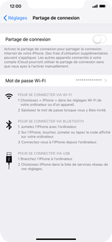 Apple iPhone XS Max - Internet - comment configurer un point d'accès mobile - Étape 6
