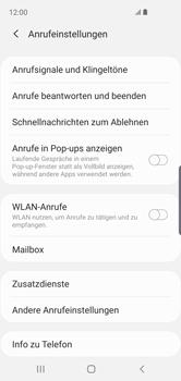 Samsung Galaxy S10e - Anrufe - Rufumleitungen setzen und löschen - 8 / 14