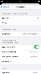 Apple iPhone 7 - iOS 13 - E-Mail - Manuelle Konfiguration - Schritt 22