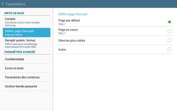 Samsung T535 Galaxy Tab 4 10.1 - Internet et roaming de données - Configuration manuelle - Étape 21