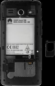 Huawei Ascend Y530 - SIM-Karte - Einlegen - 6 / 13