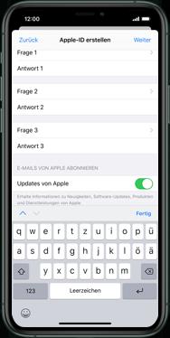 Apple iPhone XR - iOS 13 - Apps - Einrichten des App Stores - Schritt 15