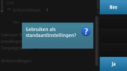 Nokia N97 - internet - automatisch instellen - stap 5