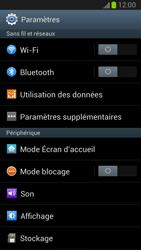 Samsung Galaxy Note II - Internet et roaming de données - Désactivation du roaming de données - Étape 4