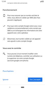 Google Pixel 3 - Applications - Créer un compte - Étape 14