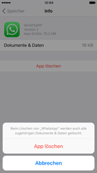 Apple iPhone 7 - Apps - Apps deinstallieren - 1 / 1