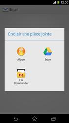 Sony D2303 Xperia M2 - E-mail - envoyer un e-mail - Étape 11