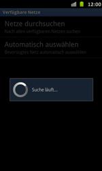 Samsung Galaxy S Advance - Netzwerk - Manuelle Netzwerkwahl - Schritt 8
