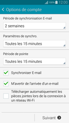 Samsung G800F Galaxy S5 Mini - E-mail - Configuration manuelle (yahoo) - Étape 8