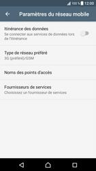 Sony Xperia XZ (F8331) - Android Nougat - Réseau - Activer 4G/LTE - Étape 6