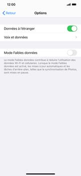 Apple iPhone XR - iOS 14 - Internet et roaming de données - Désactivation du roaming de données - Étape 5