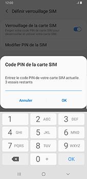 Samsung Galaxy S9 Plus - Android Pie - Sécurité - modifier SIM PIN - Étape 8