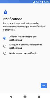 Sony Xperia XZ2 - Sécuriser votre mobile - Activer le code de verrouillage - Étape 11