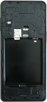 Samsung galaxy-xcover-pro-sm-g715fn - Instellingen aanpassen - SIM-Kaart plaatsen - Stap 4