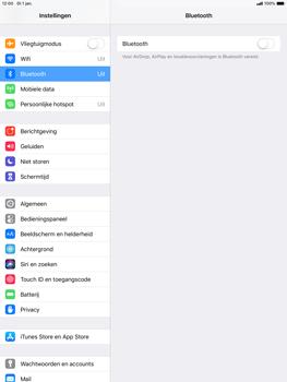 Apple ipad-air-10-5-inch-2019-model-a2123 - Bluetooth - Aanzetten - Stap 3