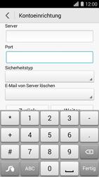 Huawei Ascend Y550 - E-Mail - Konto einrichten - Schritt 11