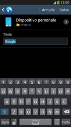 Samsung Galaxy S 4 Active - Internet e roaming dati - Uso di Internet - Fase 8