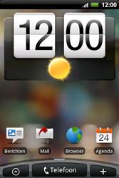 HTC A6262 Hero - E-mail - Handmatig instellen - Stap 1