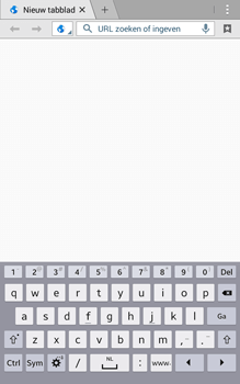 Samsung Galaxy Tab 4 (T335) - Internet - Internet gebruiken - Stap 5