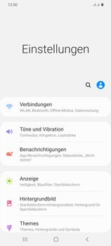 Samsung Galaxy S20 Plus 5G - Internet und Datenroaming - Prüfen, ob Datenkonnektivität aktiviert ist - Schritt 4